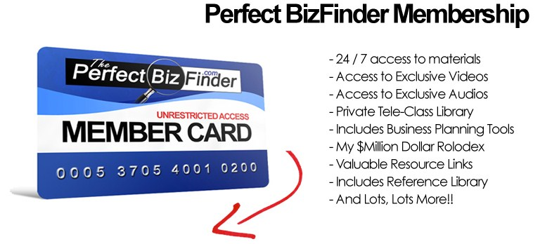 ThePerfectBizBuilder Membership